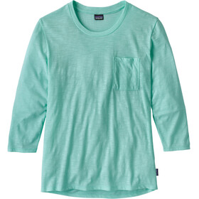 Patagonia Mainstay longsleeve Dames turquoise